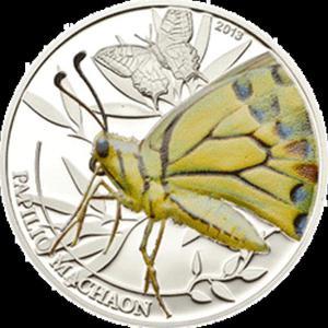 Palau - 2013, 2 dolary - Insekty - Motyl - Butterfly - 2833159638