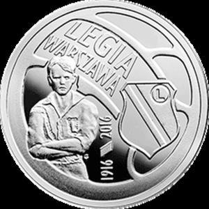 5 zł 2016 Polskie Kluby Piłkarskie - Legia Warszawa - 2833159527