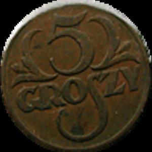 5 groszy 1937 stan II - 2833161310
