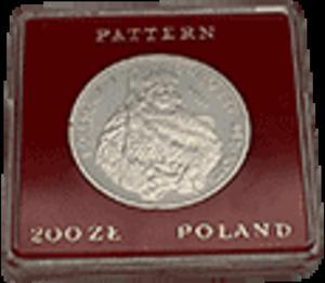 200 zł 1980 Bolesław I Chrobry - półpostać - próba - 2833161220