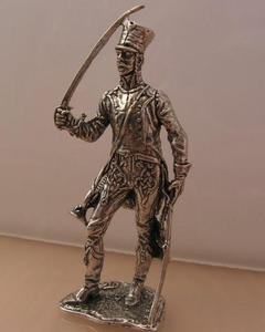 UŁAN - srebrna figurka - 2844577691