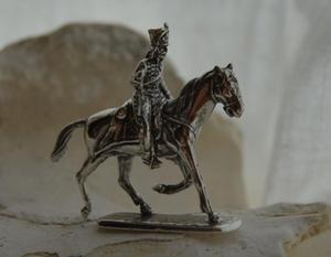 HUSAR III - figurka ze srebra - 2831092552