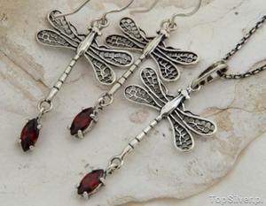 ARMELIA - srebrne klipsy z kryształem - 2831093979