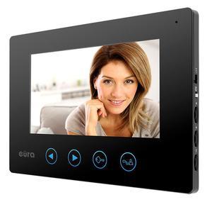 Monitor EURA VDA-06A3 EURA CONNECT czarny ekran 7'' pami - 2860768294