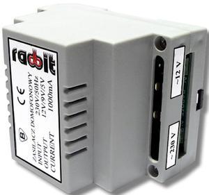 Zasilacz do kasety domofonowej Zasilacz 230/12V 10W RADBIT ZAS - 2858784843