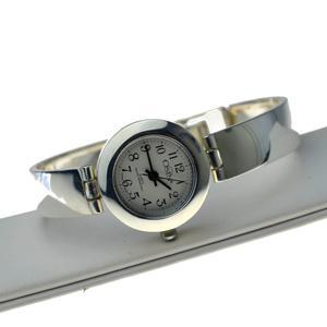 Zegarek Damski srebrny zgrabny ma - 2863932763