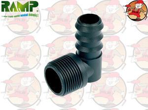 RPK-1634 kolanko z gwintem zewnętrznym 3/4' system poziomowania RAMP - 2863857662