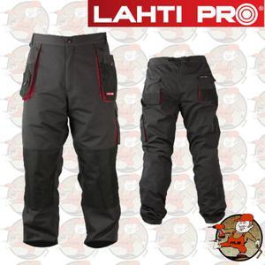 LPSR profesjonalne spodnie robocze do pasa 267 gram LahtiPro w rozmiarze M(50)