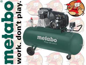 Mega580-200D Sprężarka Mega 580-200 D, 601588000