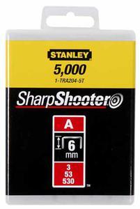Zszywka 6mm 1000szt STANLEY 1-TRA204T