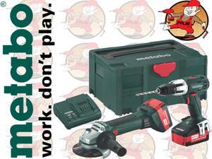 Combo2.4.218 Zestaw akumulatorów 18 volt Combo 2.4.2 18 V SBLT+W18 685039000