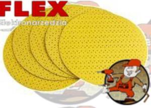 Ws702vea Papier na rzep do �yrafy FLEX 225mm ORYGINALNY - Granulacja: K80