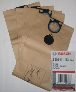 GAS50 kpl.worków oryginalnych 5szt Bosch