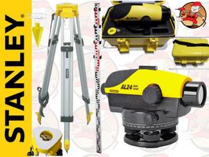 AL24GVP 1-77-160 Niwelator optyczny STANLEY + Łata + Statyw AL 24 GVP