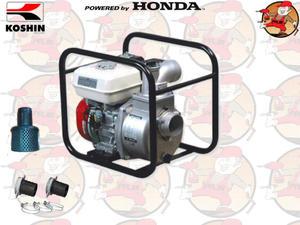 """SEH80X Pompa spalinowa do wody KOSHIN z silnikiem HONDA 930l/min 2,6 ATM 3"""" SEH 80 X +GRATIS*"""