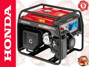 EG3600CL Agregat prądotwórczy HONDA z GX270 230V 3,6 kW +GRATIS* EG 3600 CL 5 lat gwarancji - 2825624941