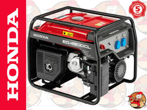 EG4500CL Agregat prądotwórczy HONDA z GX390 230V 4,5 kW +GRATIS* EG 4500 CL 5 lat gwarancji - 2825624942