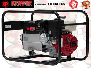 EP6500TE Agregat prądotwórczy EUROPOWER z silnikiem HONDA GX390 230V/400V 6,5 kVA + GRATIS*...