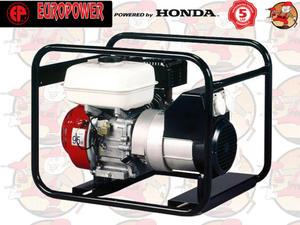 EP3000 IP54 Agregat prądotwórczy EUROPOWER z silnikiem HONDA GX200 230V 3,0 kW + GRATIS* EP 3000 IP54 5 lat gwarancji - 2846827358