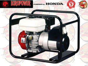 EP3000 IP54 Agregat prądotwórczy EUROPOWER z silnikiem HONDA GX200 230V 3,0 kW + GRATIS* EP...