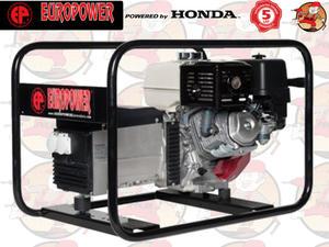 EP6000 IP54 AVR Agregat prądotwórczy EUROPOWER z silnikiem HONDA GX390 230V 6,0 kW + GRATIS*...