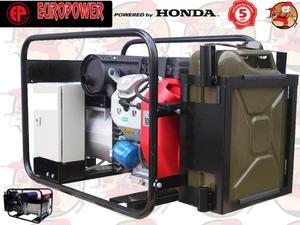 EP13500TE Agregat prądotwórczy EUROPOWER z silnikiem HONDA GX630 230/400V 13,5 kVA + GRATIS* EP 13500 TE 5 lat gwarancji - 2846827367