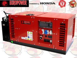 EPS6500TE Agregat prądotwórczy EUROPOWER z silnikiem HONDA GX390 230/400V 7,0 kVA + GRATIS*...
