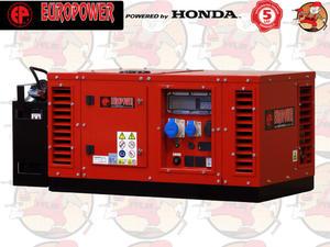 EPS12000E AVR Agregat prądotwórczy EUROPOWER z silnikiem HONDA GX690 230V 12,0 kW + GRATIS*...