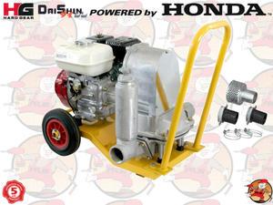 SMD50HXW Pompa spalinowa szlamowa przeponowa DAISHIN z silnikiem HONDA GX120 120 l/min 1,5 ATM...