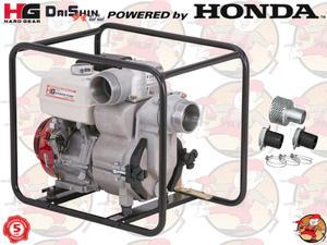 """SWT100 Pompa spalinowa szlamowa DAISHIN z silnikiem HONDA GX340 2000 l/min 2,4 ATM 4"""" +..."""
