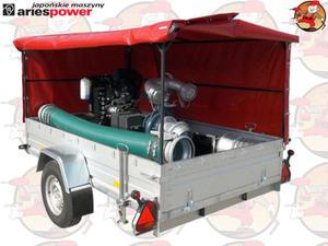 LWT250K Pompa spalinowa szlamowa powodziowa ARIES z silnikiem KUBOTA 250 m3/h 2,3 ATM + GRATIS* LWT...