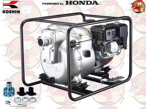 """KTH50X Pompa spalinowa szlamowa KOSHIN z silnikiem HONDA 700 l/min 3,0 ATM 2"""" KTH 50 X +GRATIS* - 2846827406"""