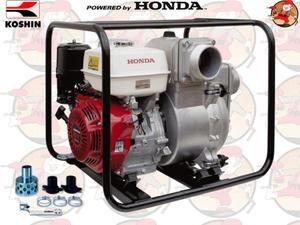 """KTH80X Pompa spalinowa szlamowa KOSHIN z silnikiem HONDA 1340 l/min 2,7 ATM 3"""" KTH 80 X +GRATIS* - 2825625015"""