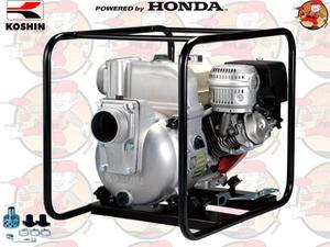 """KTH100X Pompa spalinowa szlamowa KOSHIN z silnikiem HONDA 1600 l/min 2,5 ATM 4"""" KTH 100 X +GRATIS* - 2846827407"""