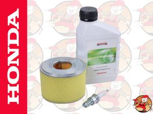 Oryginalny zestaw filtr powietrza, olej, świeca do silnika HONDA GX160 kat. 06211-ZE1-000