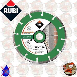 SEV230PRO Ref.25916 Tarcza diamentowa uniwersalna do materiałów budowlanych, obrzeże...