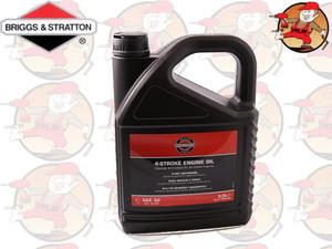 Olej Briggs&Stratton SAE30 5 litrów oleju do silników 4-suwowych kat. 100009E