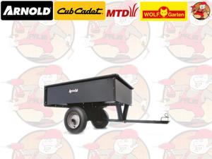 Przyczepka stalowa do traktora ogrodowego 340 kg MTD numer kat. 196-507-000