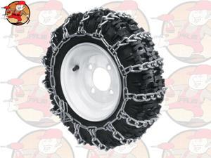 Łańcuchy na tylne koła kosiarki samojezdnej (traktorka) 16 x 6.50, 9 x 4.00, 12 x 3.00 - 2846827506