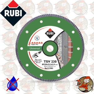 TSV230PRO Ref.25918 Tarcza diamentowa uniwersalna do materiałów budowlanych, obrzeże Turbo...