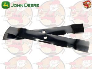 AM141032 Zestaw ostrzy (noży tnących) do niskiej trawy John Deere do np. X300, Z225, SST, X304,...