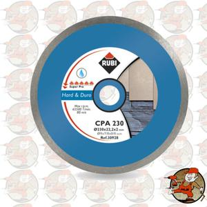 CPA300 SUPERPRO Ref.30930 Tarcza diamentowa do materiałów twardych, obrzeże ciągłe Rubi CPA...
