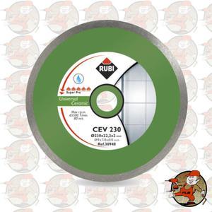 CEV230 SUPERPRO Ref.30941 Tarcza diamentowa uniwersalna do materiałów ceramicznych, obrzeże...