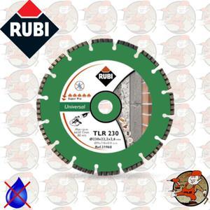 TLR230 Ref.31968 Tarcza diamentowa uniwersalna do materiałów budowlanych, obrzeże turbolaser...