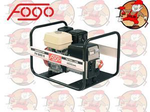 FH8000R Trójfazowy agregat prądotwórczy FOGO 230V 3,1kW 12,2A / 400V 7,7kW 10,1A silnik HONDA z AVR FH 8000 R - 2847794699