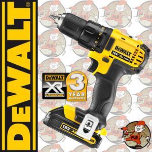 DCD780C2-QW Wiertarko-wkrętarka DEWALT 18,0V XR, 13mm, 2 biegi, 0-600/0-2000 obr/min, 35Nm, 2 akum....