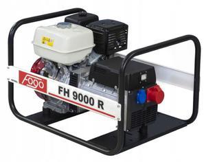 FH9000R Trójfazowy agregat prądotwórczy FOGO 230V 4,4kW 17,4A / 400V 8,5kW 11,2A silnik HONDA z AVR FH 9000 R - 2847794708