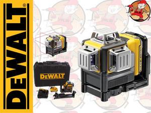 DCE089D1R-QW LASER / POZIOMNICA LINIOWA 360stopni AKUMULATOROWA 10,8V XR DEWALT DCE 089 D1R - 2849803245