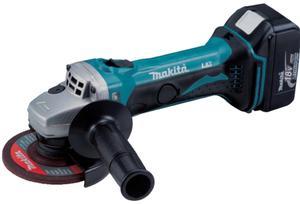 DGA452RTJ Akumulatorowa szlifierka kątowa 115mm 18V MAKITA DGA 452 RTJ - 2850646502
