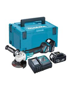 DGA504RTJ Akumulatorowa szlifierka kątowa 125mm 18V MAKITA DGA 504 RTJ - 2850646503